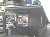 画像:阿波座店の通勤ルーム写真