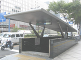 画像:北新地店の通勤ルーム写真