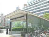 画像:長堀橋店の通勤ルーム写真