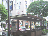 画像:中州川端店の通勤ルーム写真
