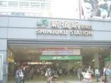 画像:新宿新南口店の通勤ルーム写真