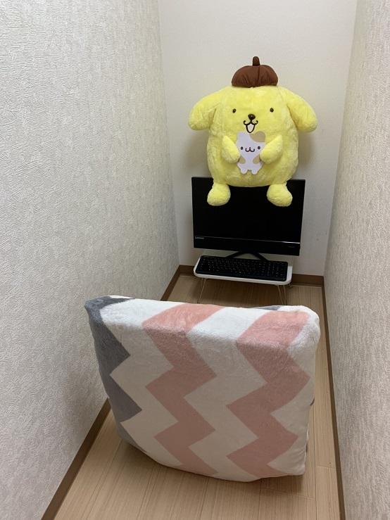 画像:西川口2号店の通勤ルーム写真