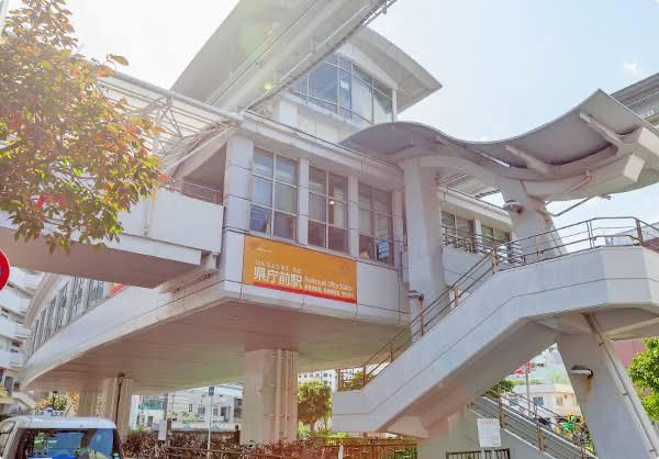画像:那覇駅店の通勤ルーム写真