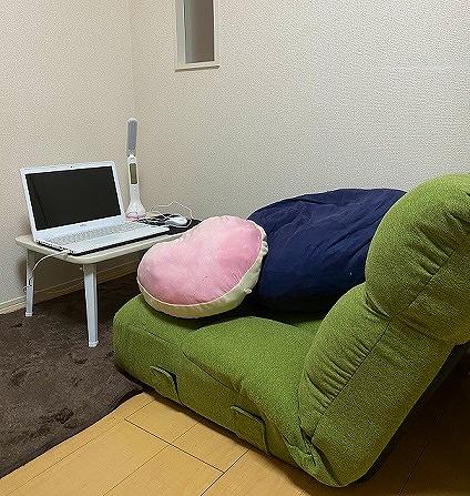 画像:静岡3号店の通勤ルーム写真